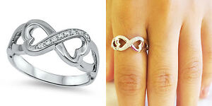 Sterling-Silver-925-INFINITY-HEART-LOVE-DESIGN-CZ-PROMISE-RING-8MM-SIZES-5-10