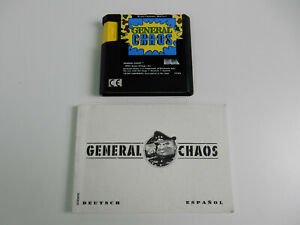 General Chaos für Sega Mega Drive - PAL - Modul + Spielanaleitung