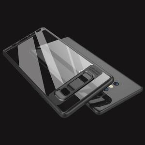 Samsung-Galaxy-Note-8-Estuche-Ultra-Delgado-Transparente-parachoques-duro-caso-cubierta-trasera