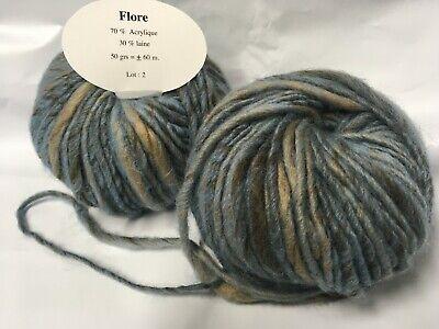 pelotes laine mohair fantaise couleur dégradée   ////// fabriqué en France