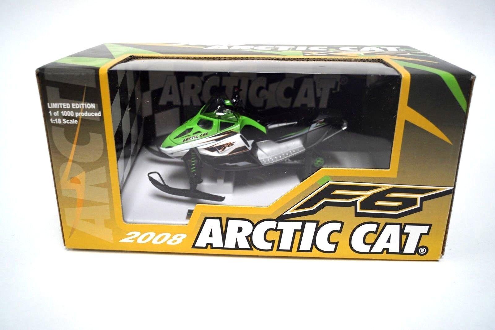 2008 Arctic Cat F6  Snowmobile Die Cast 1 18 Scale modello giocattolo 4289-085