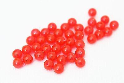 200 pcs//lot Plastic Fishing Beads Floating Bobber Bulk Beads Fishing Accessories