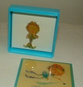 Vintage-Herself-the-Elf-Flying-Fairy-Style-1-Jewelry-Box-Brooch-New-NOS