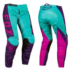 Fox Racing 180 Womens Wmn Motocross Mx Bike Pants Pink Purple Ebay