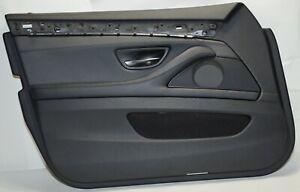 Door-Panel-BMW-5ER-F10-F11-Front-Left-Leather-Dakota-Black-Orig-7273047