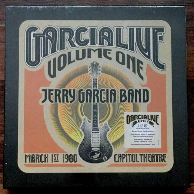 Jerry Garcia Band - GarciaLive Volume 1 Capitol 1980 5LP Box [Vinyl New] Lt 180g