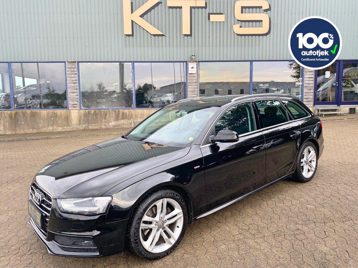 Audi A4 2,0 TDi 136 Ultra S-line Avant 5d - 169.900 kr.