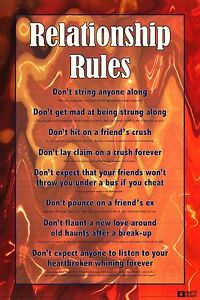 Funny rules of dating