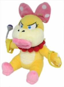 "Little Buddy Super Mario Bros Wendy 7"" Plush Toy Doll Stuffed Animal"