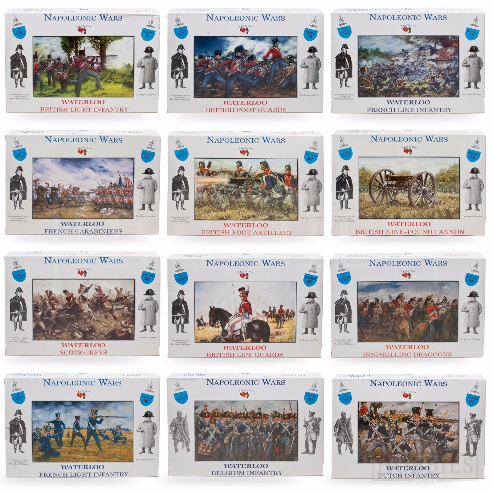 A Call To Arms 1//32 Napoleonic Waterloo British Foot Artillery # 3222