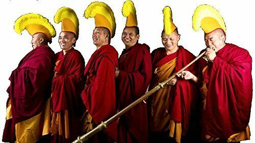 Kathmandu Lama Gelug Hat Bought At Boudanath Temple Authentic Tibetan Monk