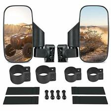 """1.75"""" 2"""" Roll Cage UTV Rear View Mirror Side View High Impact For RZR 800 S 1000"""