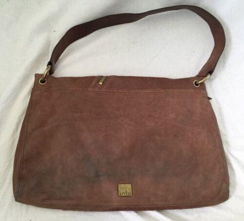 Aus Leder handtasche Brown Hobo Kooba XqwS10x