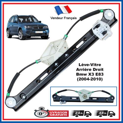 LEVE VITRE ARRIERE DROIT PASSAGER BMW E83 X3 2004-2010