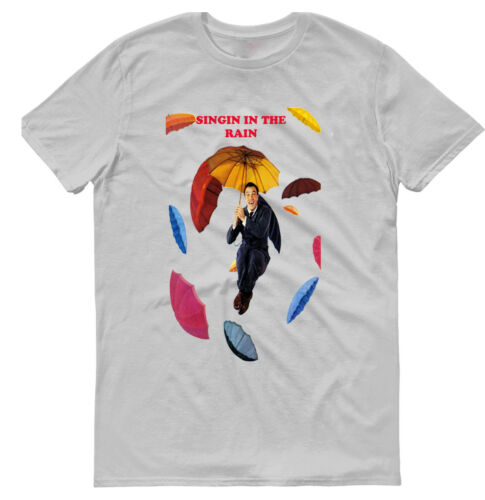SINGIN/' IN THE RAIN MOVIE,100/% COTTON,MEN/'S T-SHIRT.,E0800