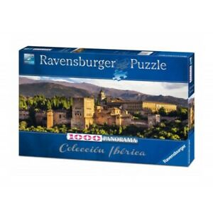 "NEW Ravensburger Jigsaw Puzzle 1000 Pieces Tiles ""Granada"" Panorama Iberica Coll"