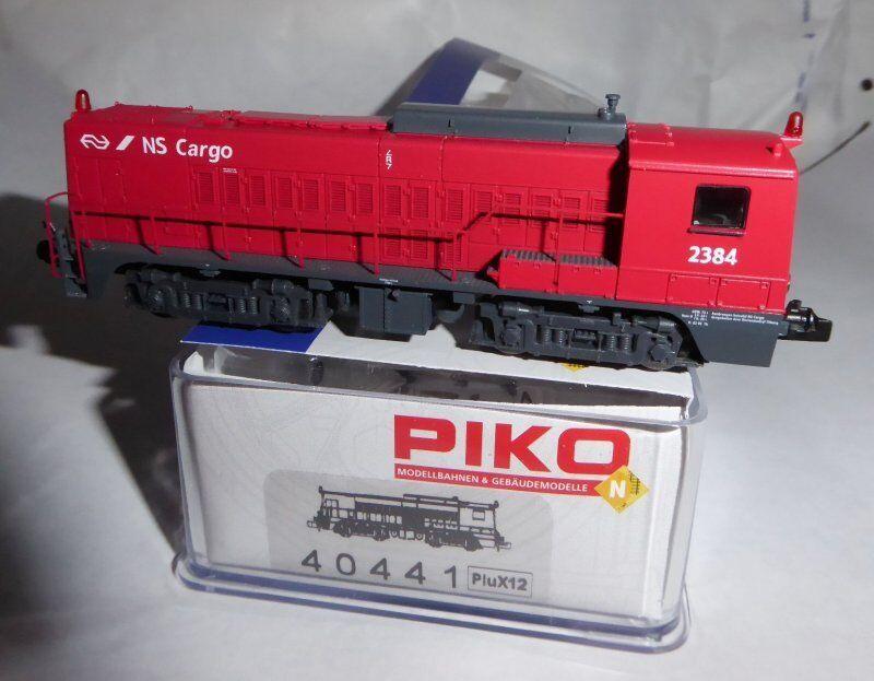 Piko 40441 Locomotora Diésel 2384 2384 2384 de NS Cargo Ep.5 6 Escala N, Dss PluX12 919115