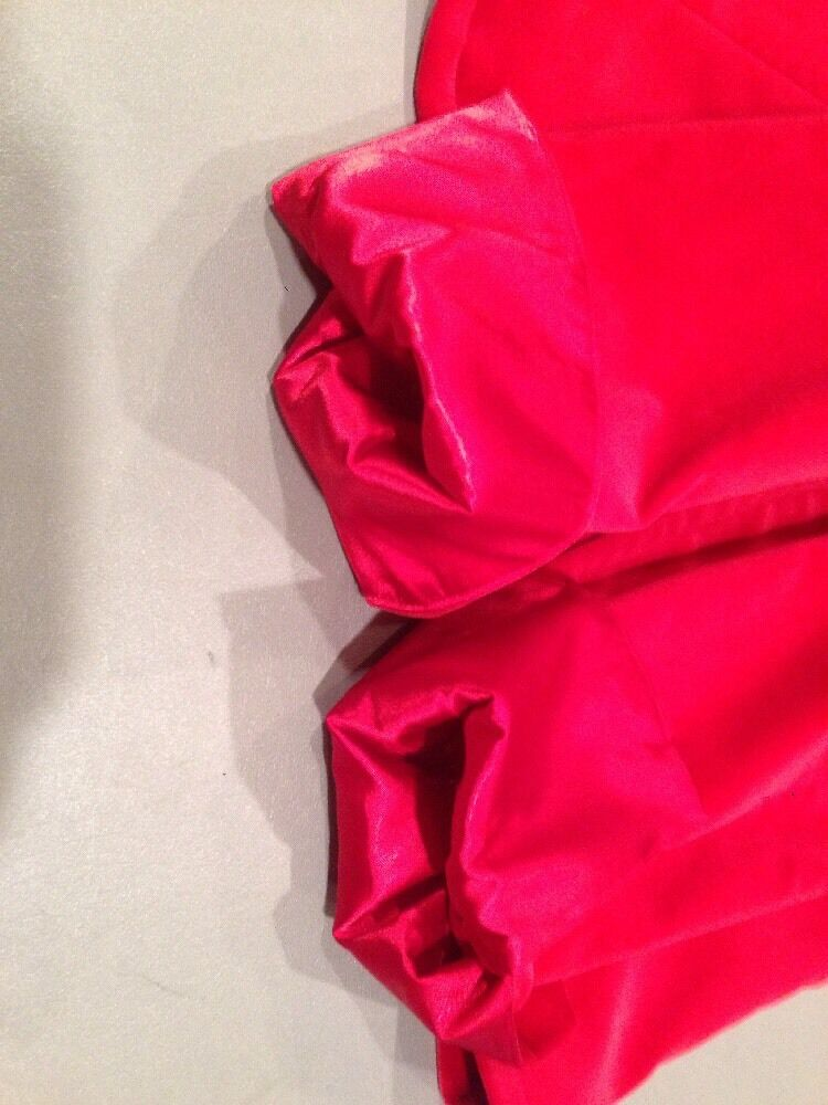 Women's 4 Marshall Field's Red Velvet Blazer - image 12