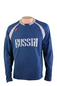 FORWARD-TEAM-034-RUSSIA-034-Russland-Langarm-Kinder-Herren-T-Shirt-20901MF-8-1B