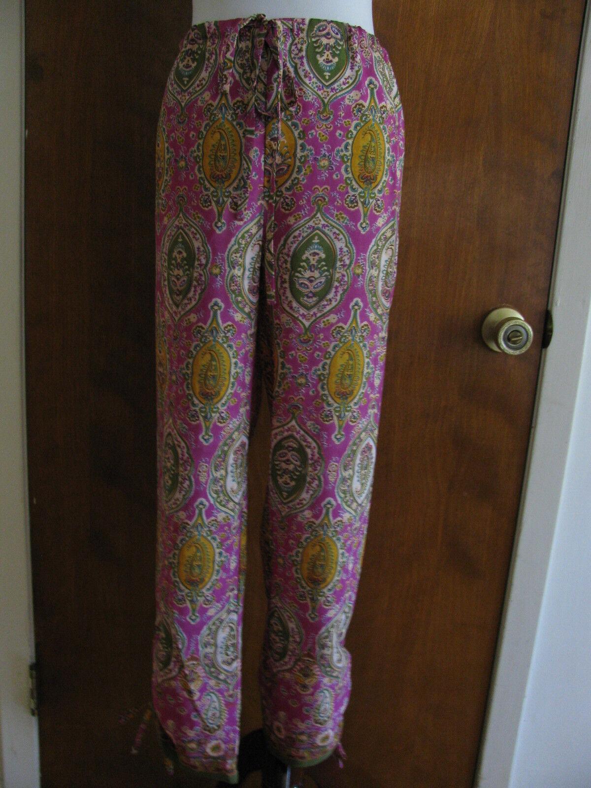 Ralph Lauren Women's Multi color Summer Pants Size Large NWT