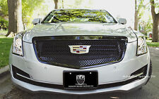 1pc All Black Heavy Mesh Grille Grill E&g Fits 2015 2016 2017 ...