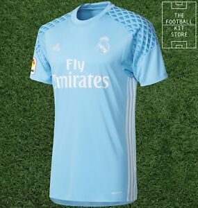 b30c1835c31 Image is loading Real-Madrid-Goalkeeper-Shirt-Official-adidas-Home-GK-