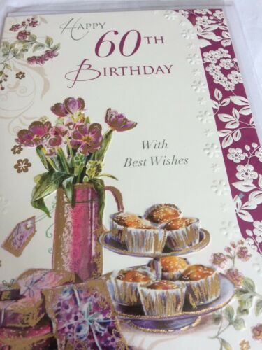 60th birthday cards 5 to choose from.