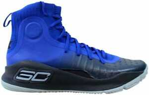 4ab70b4d9c4 Under Armour Curry 4 Team Royal Yellow Away 1298306-401 Men s Size ...