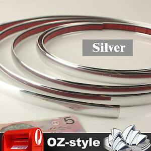 30mm-Chrome-Silver-Moulding-Trim-Strip-Car-Caravan-Truck-Scratch-Guard-Line-12M