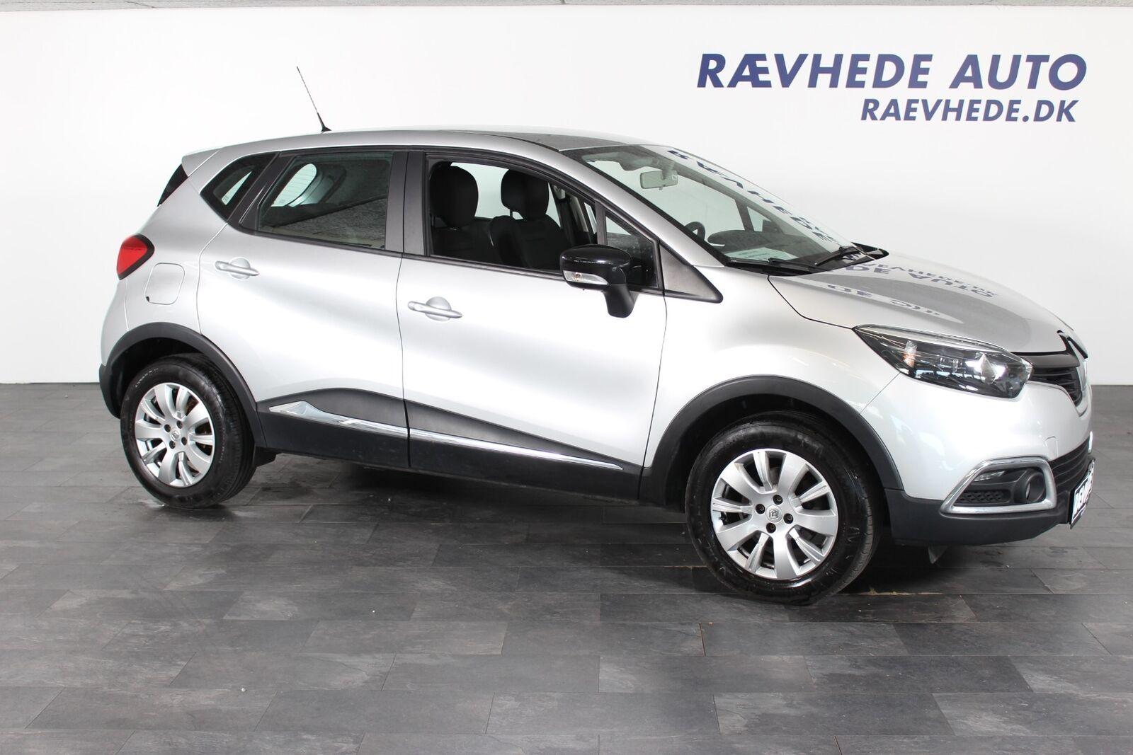 Renault Captur 1,5 dCi 90 Expression 5d - 89.900 kr.