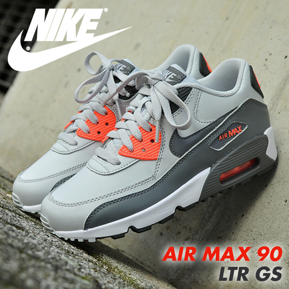 NIKE AIR MAX 90 GS WOMEN NEW with BOX!!!!