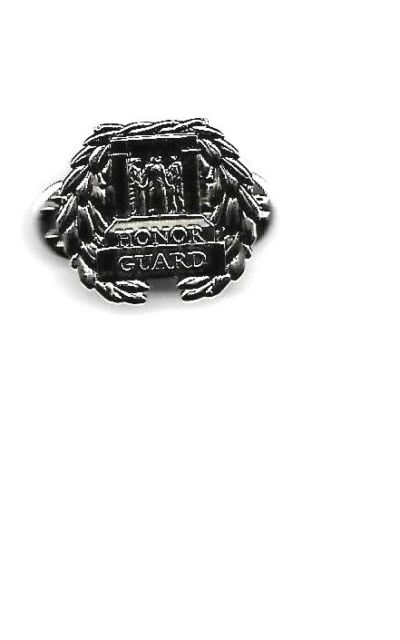 HONOR GUARD TOMB OF THE UNKNOWN SOLDIER SILVER MILITARY BADGE PIN