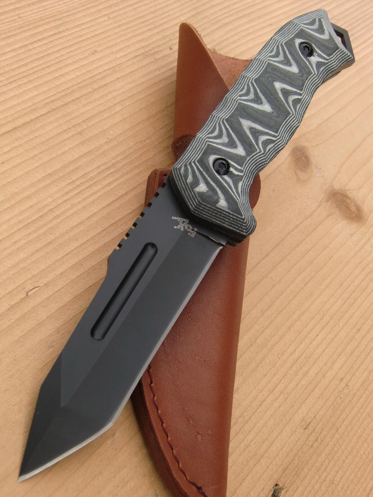 FOX-Outdoor Jagdmesser Gürtelmesser Arbeitsmesser Fahrtenmesser + + + SCHEIDE 44383 7e85b7