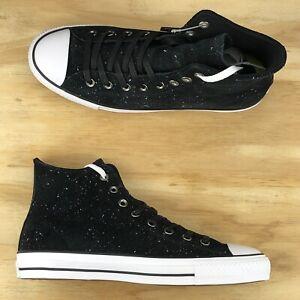 Converse-Chuck-Taylor-All-Star-Pro-Hi-Top-Black-White-Casual-Shoe-155511C-Sz-9-5
