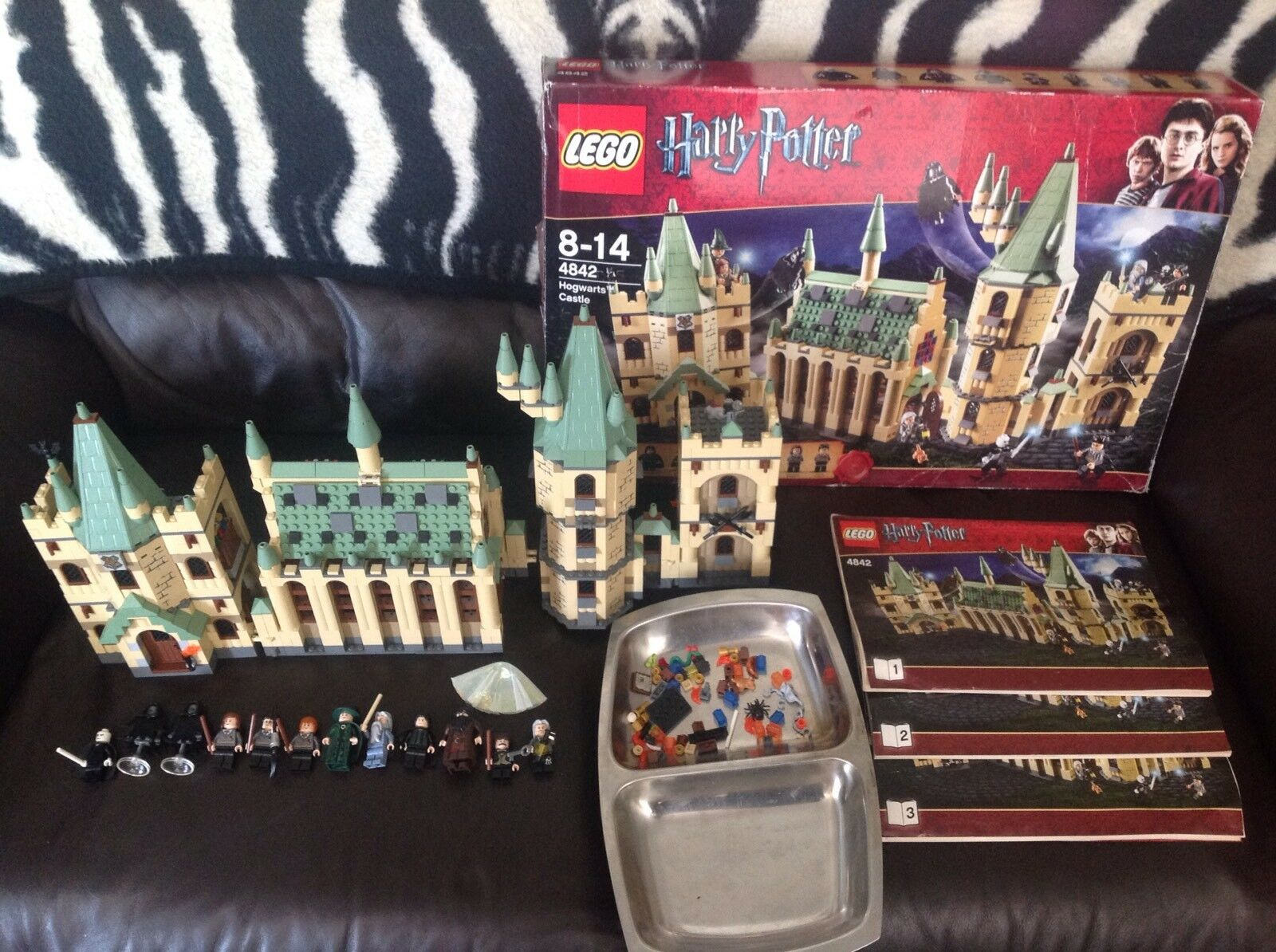 Lego Harry Potter 4842 Hogwarts Castle 4th Edition Complete With All Minifigures