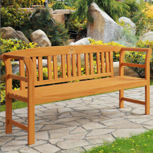 Superb Details About Garden Bench Rose 3 Seater Wooden Outdoor Wood Patio Furniture Seatbench 150 Cm Ibusinesslaw Wood Chair Design Ideas Ibusinesslaworg