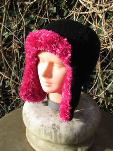 b9a5cc99262 Image is loading PRINTED-KNITTING-INSTRUCTIONS-TRAPPER-HAT-KNITTING-PATTERN- BY-