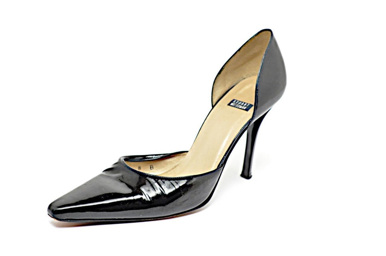 grandi prezzi scontati STUART WEITZMAN nero Patent Leather Open Side Pump Heels Sz Sz Sz 38  ti aspetto