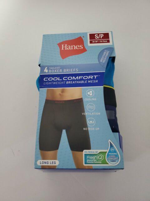 Hanes Mens FreshIQ Cool Comfort Breathable Mesh 6-Pack Sport Brief
