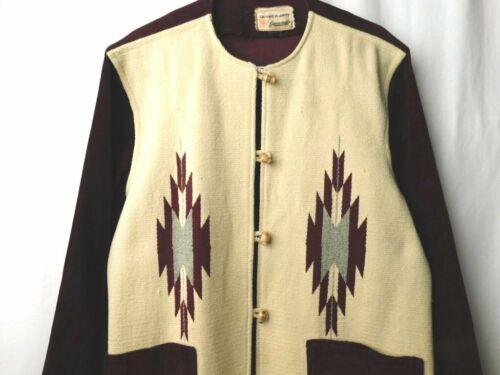 Vintage 1950's Ganscraft Chimayo Wool Corduroy Shi