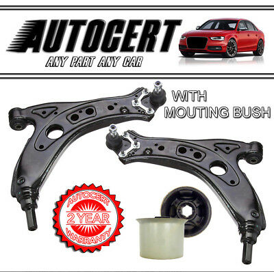 WISHBONE LEFT /& RIGHT SKODA ROOMSTER 2006-2015 FRONT SUSPENSION CONTROL ARM