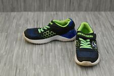 Skechers Ultrapulse Rapid Shift Blue+Lime Kids Sneakers Shoes Youth 97757 NEW