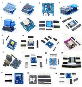 """ESP8266 Schild WeMos D1 mini NodeMcu Batterie Shield 0.66"""" OLED PRO RTC Arduino"""