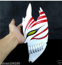 Bleach Kurosaki Ichigo face mask Hollow bankai Maschera Masquerade red half face