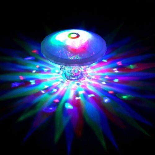 RGB LED Poolbeleuchtung Schwimmende Unterwasser Pool Licht Beleuchtung Lampe NEU