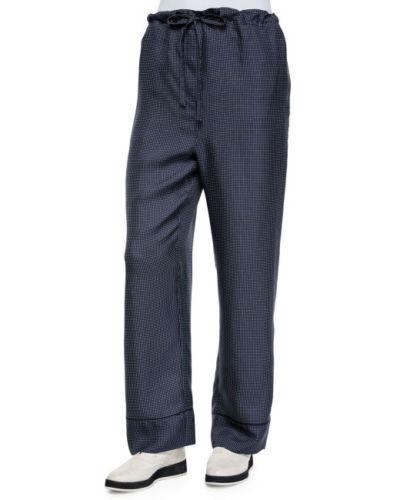 425 NWT Rag & Bone Gabrielle Silk Micro Dot Wide Legs Relaxed Pants sz 2;sz 6