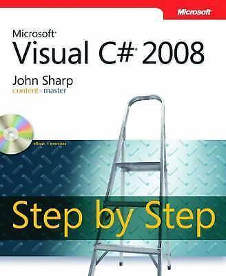 """AS NEW"" Microsoft® Visual C#® 2008 Step by Step (PRO- Step by Step Developer),"