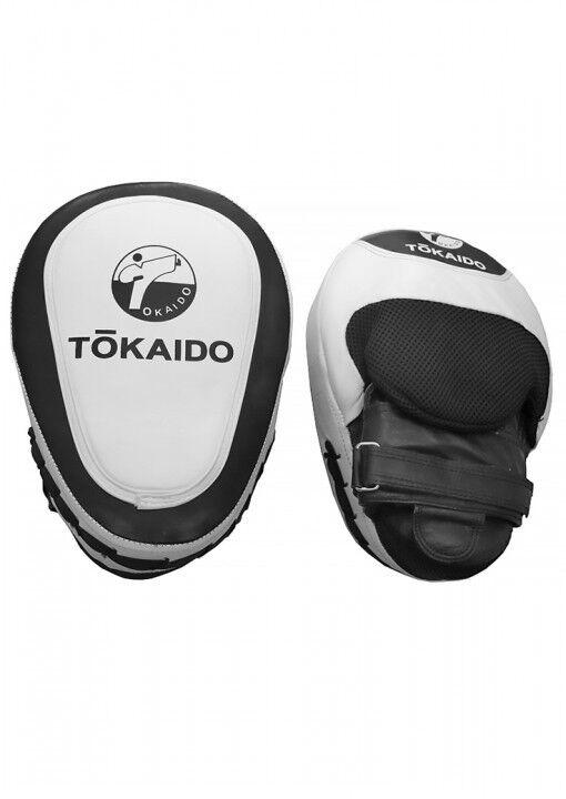 Tokaido- Handpratze. HANDPRATZE, TOKAIDO CAMBER PRO, SCHWARZ/WEIß. Boxen. 2 Stk.