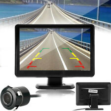 4.3 TFT LCD Car Rearview System Monitor Backup Reverse Camera CMOS Waterproof