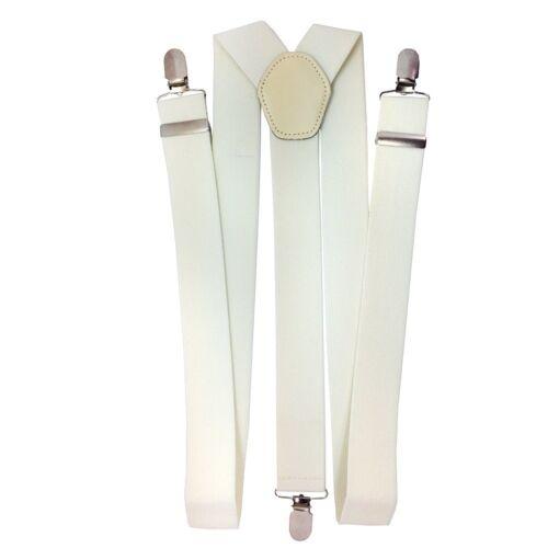Herren Hosenträger 50mm Breit Verstellbarer Elastischer Hose Zum Anklammern